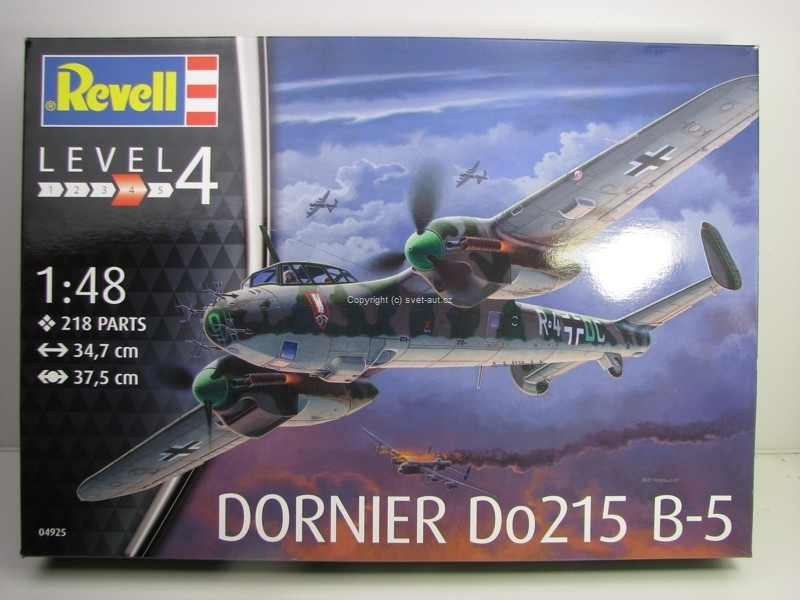 Letadlo Dornier Do215 B-5 Night Fighter stavebnice 1:48 Revell 04925